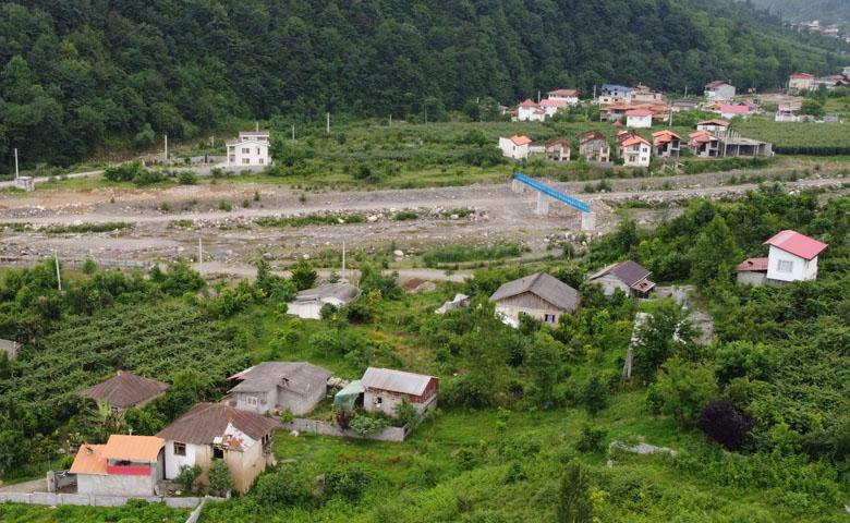 زمین مسکونی با چشم انداز کوه