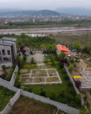 تصویر زمین مسکونی در منطقه دنج
